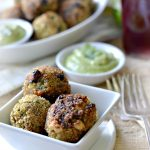 Southwestern Quinoa Bites Recipe with Avocado Dipping Sauce – Gluten-free and Vegan