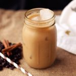 Iced Dirty Chai Almond Milk Latte {Gluten-free and Vegan}