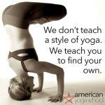 American Yoga School Launches Yoga Teacher Training Online