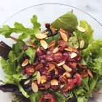 Bacon Roasted Grape Salad (gluten-free + dairy-free w/ vegan option)