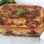Lightened-Up Moussaka {Grain-free w/ Vegetarian Options}