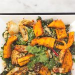 Red Curry Roasted Pumpkin and Fennel Quinoa Salad
