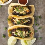 Slow Cooker Spicy Asian Portobello Tacos with Sriracha Slaw