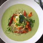 Chilled Green Curry Kelp Noodle Bowl