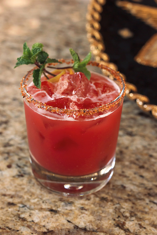 Spiced Hibiscus Rum Cooler and the Islands of Loreto - Tasty Yummies
