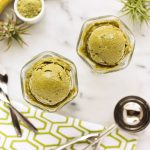 3-Ingredient Banana Matcha Ice Cream