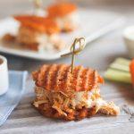 Buffalo Chicken Sweet Potato Sliders