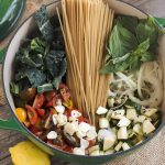 Late Summer Farmers Market One-Pot Pasta (Gluten-Free)