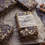 Chocolate Trail Mix Energy Bars