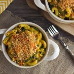 "Spicy Butternut Squash and Kale ""Cheezy"" Mac"