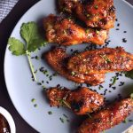 Spicy Orange Sriracha Chicken Wings
