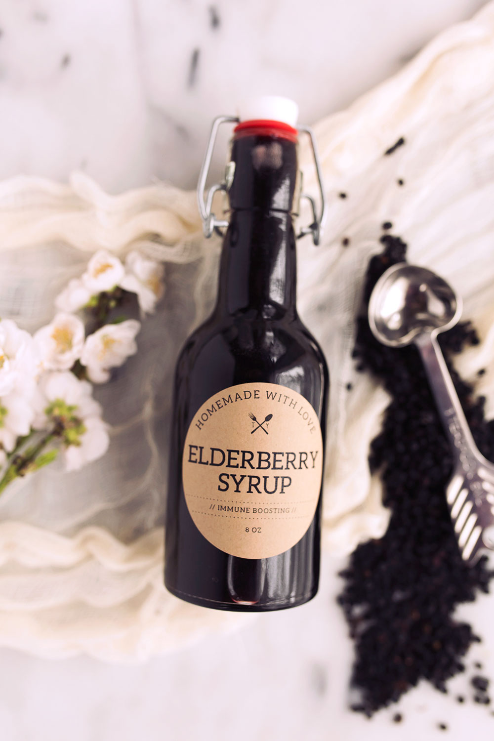 How To Make Elderberry Syrup Tasty Yummies