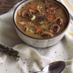 Comforting Mushroom Soup
