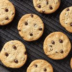 Perfect Grain-free Chocolate Chip Cookies {gluten-free, paleo, egg-free, dairy-free, vegan}