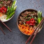 Grain-free Thai Beef Bowls {Paleo, Whole30, Keto}