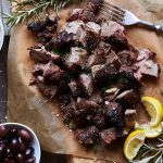 Grilled Greek-Style Leg of Lamb