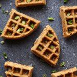 Savory Cassava Flour Waffles with Bacon and Scallions {Paleo, Gluten-free}