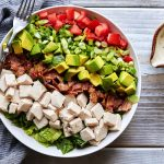 Turkey Club Chopped Salad with Aioli Vinaigrette {Paleo-friendly}