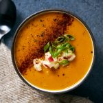 Smoky Sweet Potato and Apple Soup