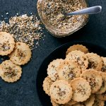 Grain-free Everything Bagel Crackers