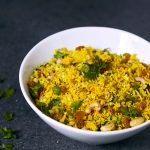 Golden Rice and Cauliflower Pilaf