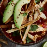 Turkey Tortilla Soup {with Paleo Option}