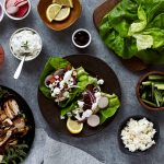 Lettuce Wrapped Chicken Souvlaki {Paleo and Gluten-free with Dairy-free options}