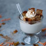 Grain-free Carrot Cake Coconut Panna Cotta {Dairy-free and Paleo-friendly }