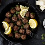 Greek Gyro Meatballs {Paleo-friendly}