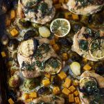 Sheet Pan Roast Chicken and Veggies Dinner {+ Video} Gluten-free + Paleo