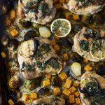 Sheet Pan Roast Chicken and Veggies Dinner {+ Video} Gluten-free + Paleo
