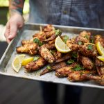 Crispy Grilled Chicken Wings – Three Ways