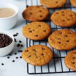 Grain-free Almond Butter Chocolate Chip Cookies {Paleo}