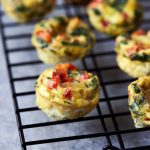 Mini Frittata Egg Bites {gluten-free, paleo, keto, whole30}