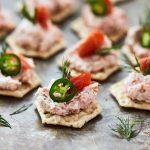 Smoked Salmon Dip {Paleo, Gluten-free, Keto} + Video