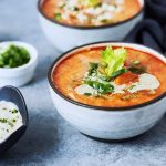 Paleo Instant Pot Buffalo Chicken Soup {Keto, Whole30} w/ Stovetop and Slow Cooker Options