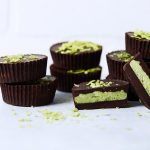 Dark Chocolate Matcha Coconut Butter Keto Cups {paleo, low-carb, gluten-free, vegan}