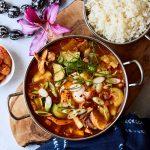 Kimchi Stew // Kimchee-jjigae {gluten-free, paleo}