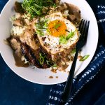 Keto Loco Moco Breakfast Bowl {Paleo, Whole30, AIP-option}