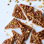 Paleo Baklava Shortbread Cookie Bars {Gluten-free}