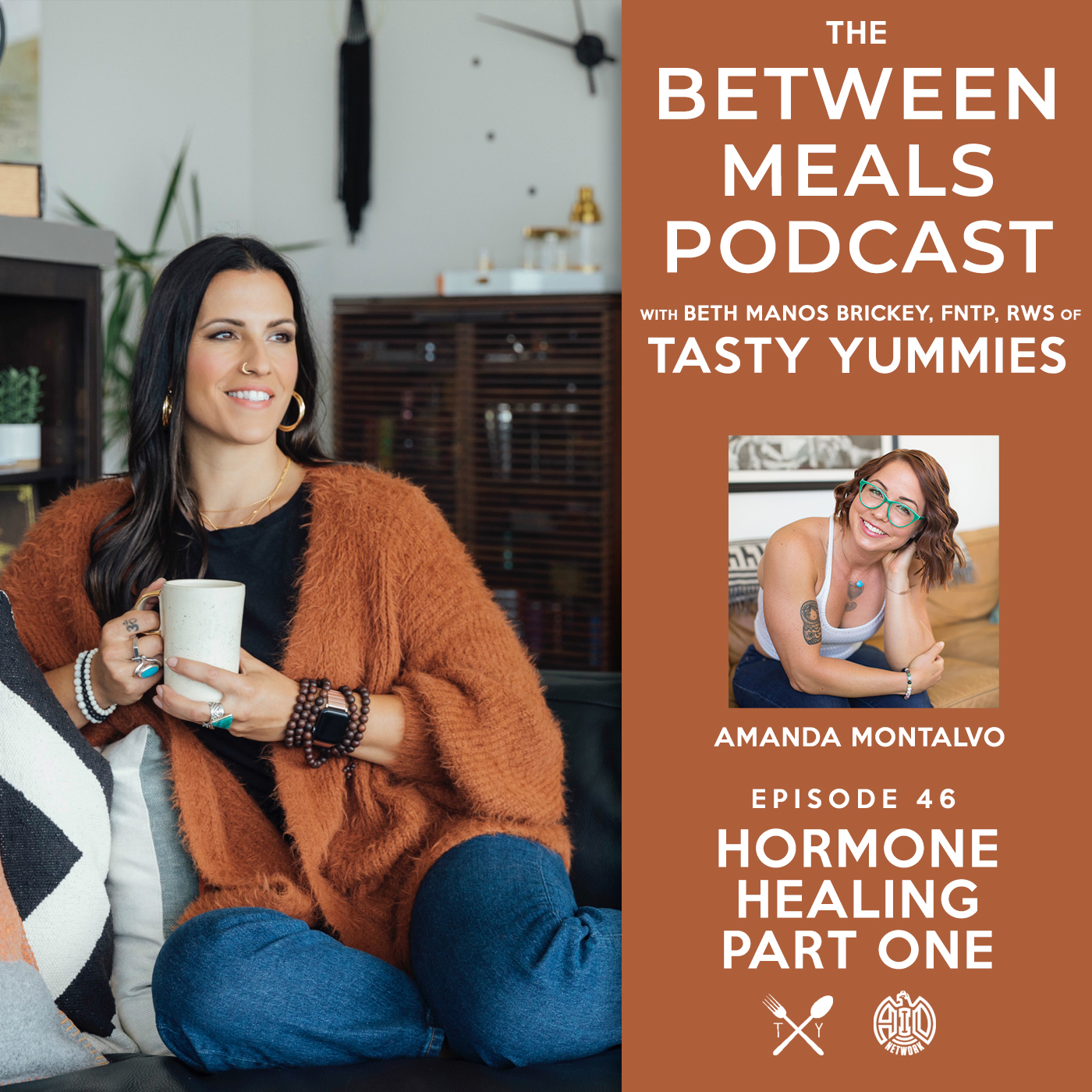 Between Meals Podcast. Episode 46: Hormone Healing Part 1 with Amanda Montalvo