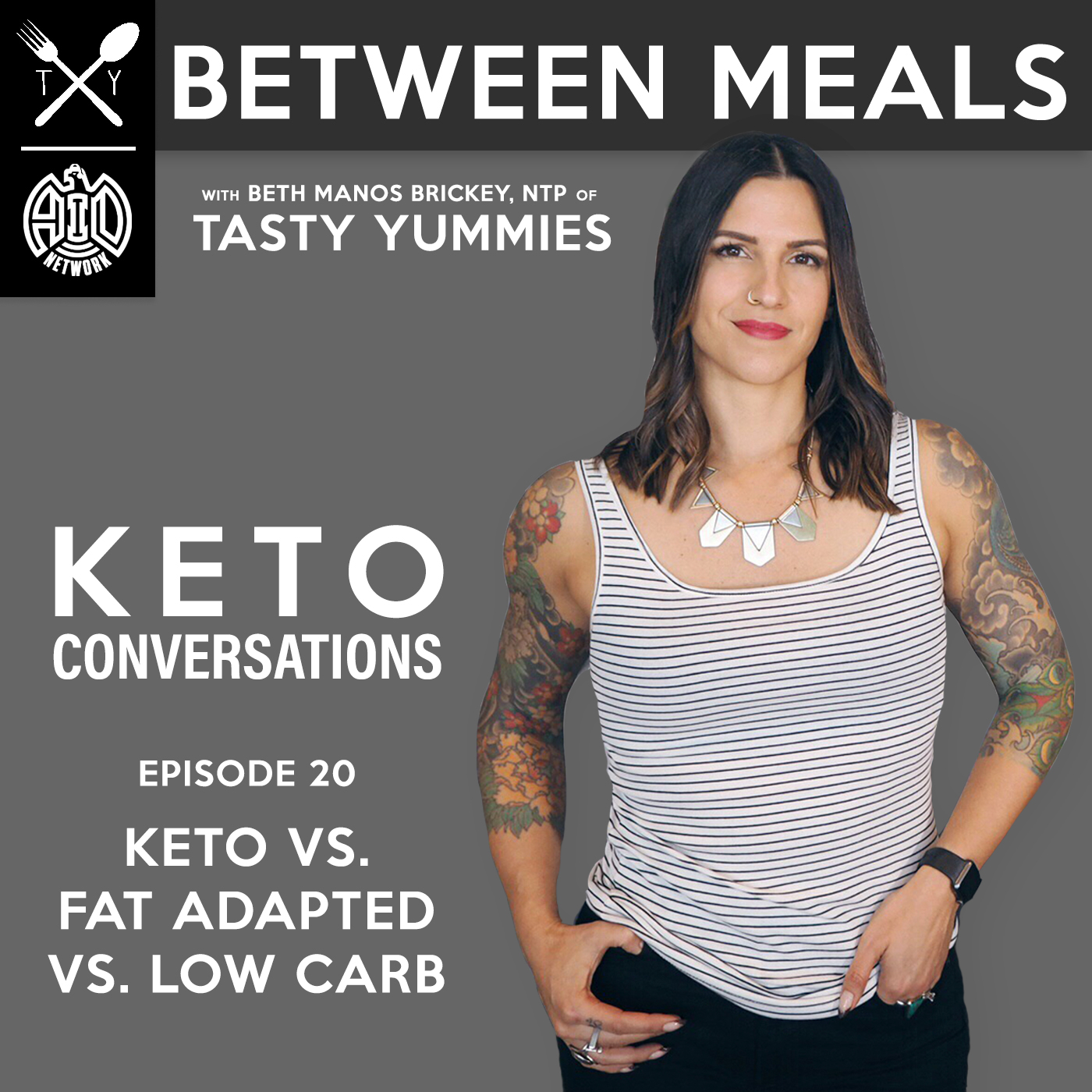 Between Meals Podcast. Episode 20: Keto vs. Fat Adapted vs. Low Carb