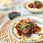 Wine Braised Short Ribs with Rustic Mashed Potatoes {gluten-free, grain-free, paleo + Whole30}
