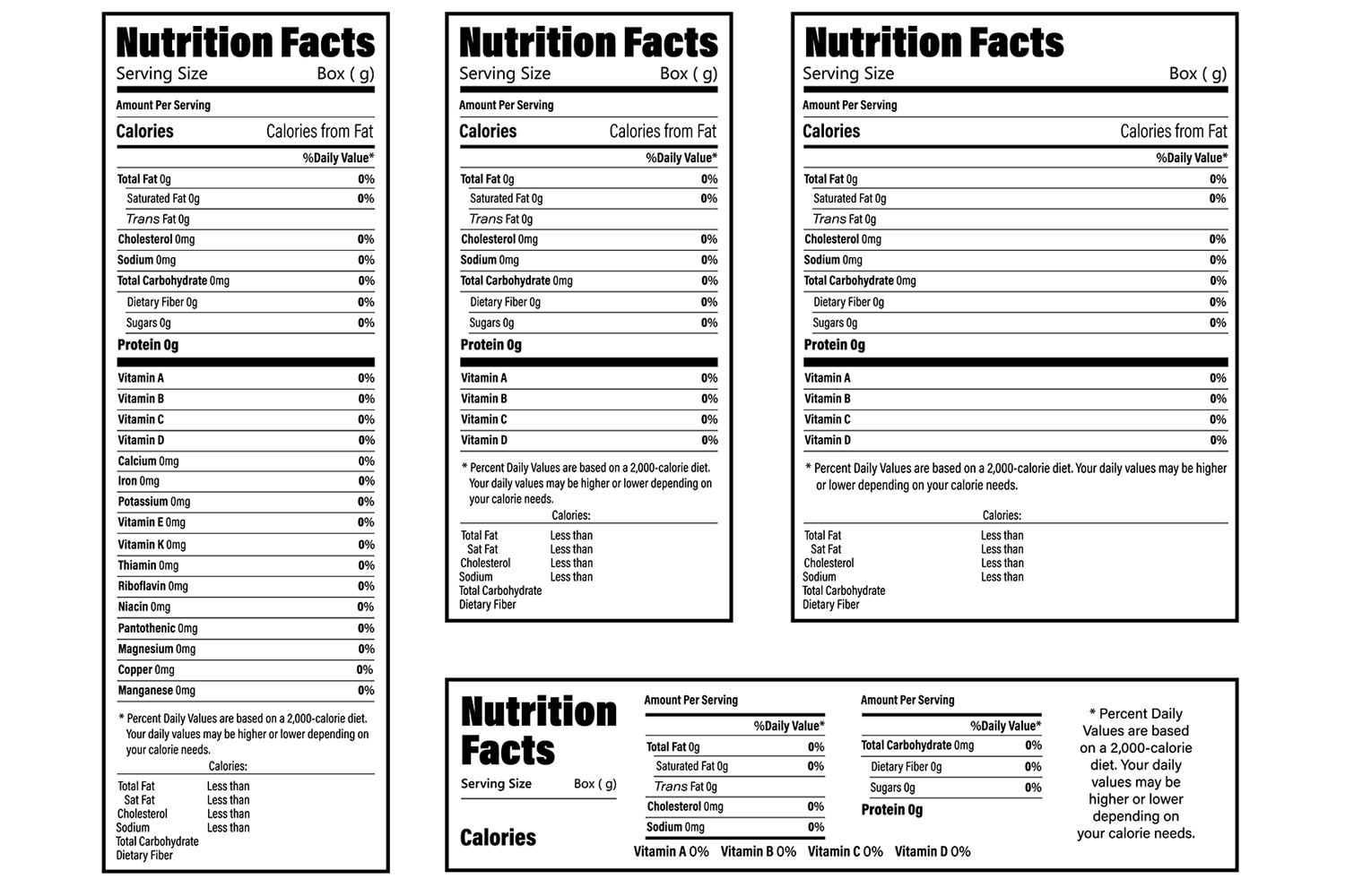 How to Calculate Your Own Nutrition Facts on a Recipe (and why I don't provide these)